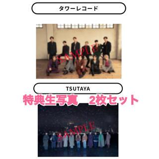 JO1 写真集の特典生写真  タワーレコード・TSUTAYA 2枚セット