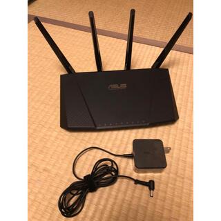 エイスース(ASUS)のDual-band wireless-AC Router(PC周辺機器)