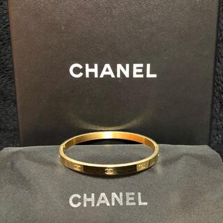 CHANEL - 新品未使用★CHANEL シャネル ノベルティ バングル ブレスレット 箱保存袋