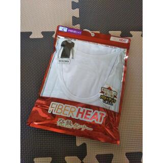 シマムラ(しまむら)の新品/しまむら FIBERHEAT/メンズ 丸首 半袖Tシャツ/白/3L (その他)