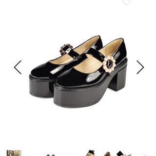 evelyn - evelyn 靴 厚底ヒール