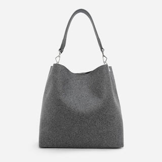 Charles and Keith - CHARLES & KEITH/ベーシック ホーボーバッグ (Grey)