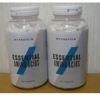 マイプロテイン(MYPROTEIN)のマイプロテイン 新品未開封EAAタブレット 270錠✕2個(アミノ酸)