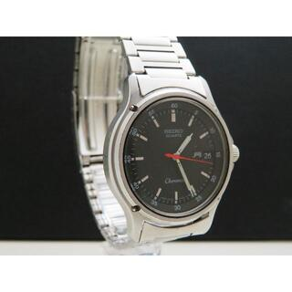 セイコー(SEIKO)のSEIKO Chronos 腕時計 デイデイト 黒文字盤(腕時計(アナログ))