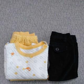 babyGAP - ユニクロ キルトパジャマ ミッフィー ベビーギャップ スキニーパンツ 90