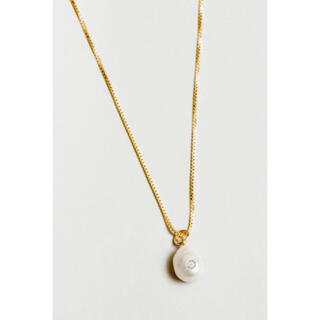 DEUXIEME CLASSE - WOLF CIRCUS CLEMENTINE NECKLACE - GOLD