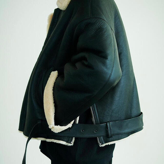 COMOLI - yoke oversized bomber jacket