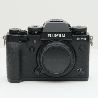 富士フイルム - 美品 おまけつき X−T3 FUJIFILM ボディ単体 ブラック 黒