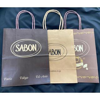 サボン(SABON)のSABON 紙袋 3枚セット(ショップ袋)