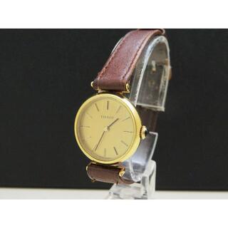 TISSOT 手巻き腕時計 ゴールド Cal.2141 ラウンドフェイス