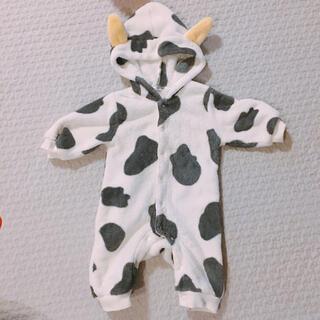 西松屋 - 70サイズ 牛さんロンパース 着ぐるみ