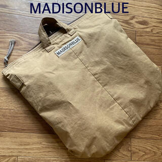 マディソンブルー(MADISONBLUE)の希少【MADISONBLUE 】HELMET BAG WAXED CLOTH(トートバッグ)