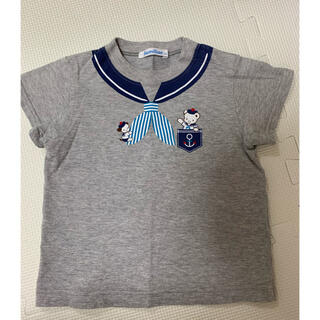 familiar - ファミリア セーラー だまし絵Tシャツ 90 現行品