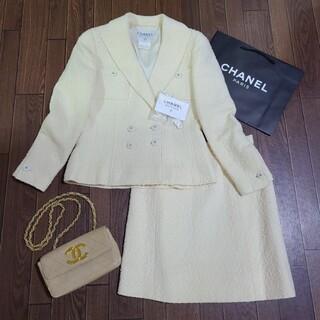 CHANEL - シャネル ツイードスーツ セットアップ シャネルスーツ ジャケット コート
