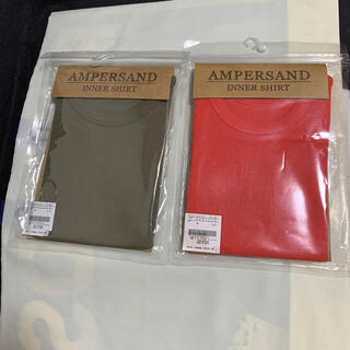 ampersand - シャツ 肌着 100