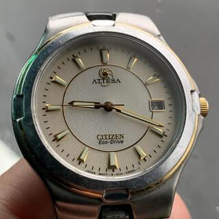 CITIZEN - ジャンク シチズン アテッサ ATTESA ソーラー時計 腕時計 エコドライブ
