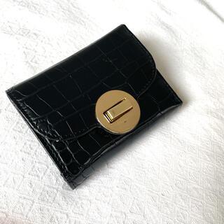 コムサイズム(COMME CA ISM)のCOMME CA ISM  折りたたみ財布 ブラック(財布)
