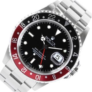 ロレックス ROLEX GMTマスター2 腕時計 メンズ【中古】