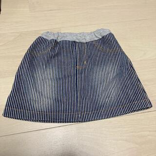 スキップランド(Skip Land)のハートポケットストライプスカート(スカート)