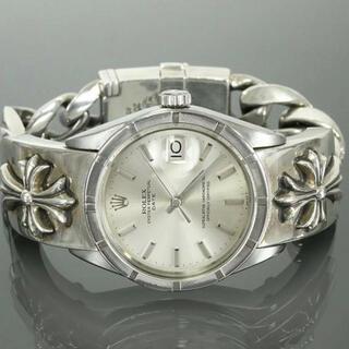 Chrome Hearts - クロムハーツ ロレックス オイスターパーペチュアルデイト腕時計