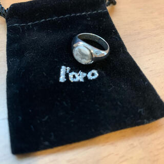 BEAUTY&YOUTH UNITED ARROWS - ☆新品・未使用☆LORO wh pinky ring size 1