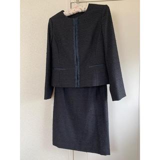 UNTITLED - UNTITLED ツィード  ジャケット スカート