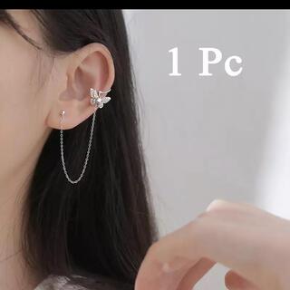 バタフライモチーフチェーンピアス♡韓国アクセ インポートアクセ