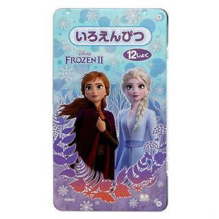 ディズニー(Disney)のアナと雪の女王 色鉛筆 ぬりえ 12色 色えんぴつ(色鉛筆)