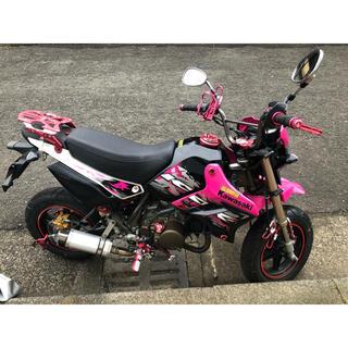 カワサキ - KSR110 ピンク 希少 低走行 Kawasaki 外装カスタム バイク 中古