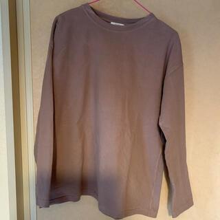 ダブルクローゼット(w closet)のBIGシルエットロンT トップス レディース aprejour(Tシャツ(長袖/七分))