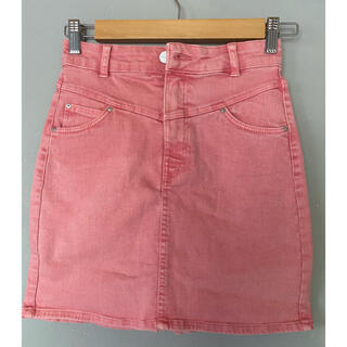 ベルシュカ(Bershka)のほぼ新品 ベルシュカ ピンク タイトミニスカート(ミニスカート)