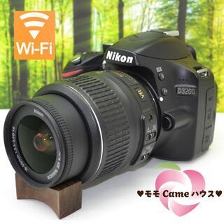 Nikon - ニコン D3200☆初めての一眼レフに☆スマホに転送OK♪1374