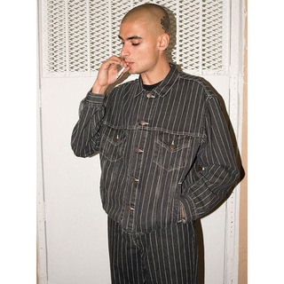Supreme - supreme levis pinstripe jacket 常田大希