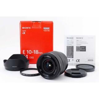 SONY - 701ほぼ新品 SONY E 10-18mm Pro1D フィルター付