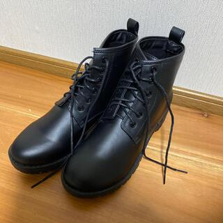 エヘカソポ(ehka sopo)の新品未使用 レースアップブーツ(ブーツ)
