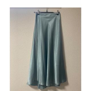 NATURAL BEAUTY BASIC - ナチュビュ サテンスカート グロッシースカート マーメイドスカートセルフォード