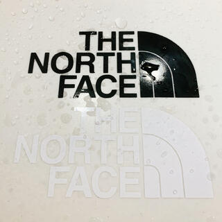 THE NORTH FACE - ノースフェイス THE NORTH FACE カッティングステッカー 2枚セット