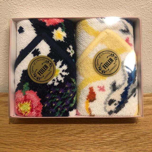 FEILER(フェイラー)のANA 機内販売 フェイラー  コラボハンカチ 【新品】 レディースのファッション小物(ハンカチ)の商品写真