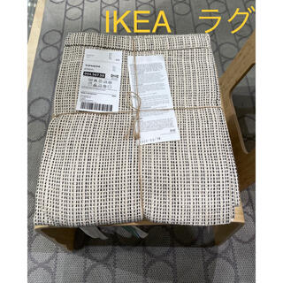 イケア(IKEA)のIKEA イケア TIPHEDE ティプヘデ  ラグ カーペット 絨毯(ラグ)