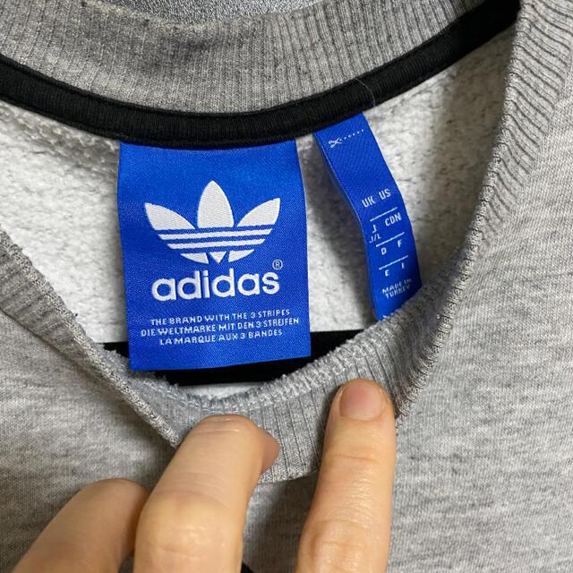 adidas(アディダス)のアディダス トレーナー スウェット L メンズのトップス(スウェット)の商品写真