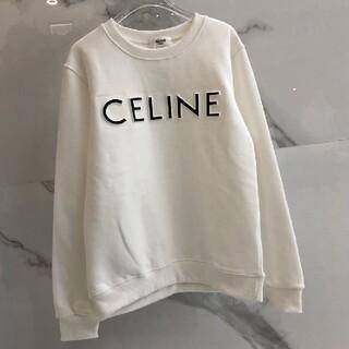 celine - 人気商品❀CELINE スウェット トレーナー 男女兼用