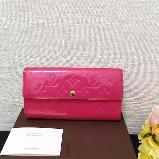 LOUIS VUITTON(ルイヴィトン)の人気なピンク長財布 お買い得 レディースのファッション
