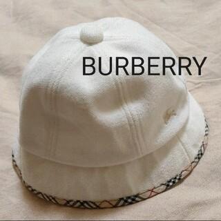 BURBERRY - 【未使用】BURBERRY ベビーハット