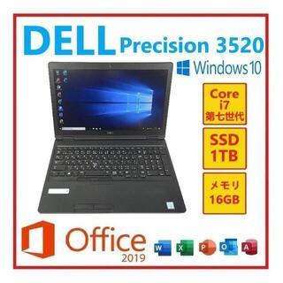 DELL - RL-30 DellPreision3520 Win10Office2019搭載