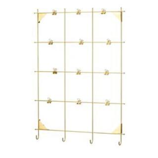 イケア(IKEA)のIKEA メモクリップボード(ゴールド)(その他)