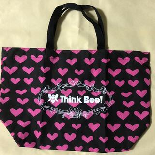 Think Bee! - ThinkBee!! ショッピングバッグ 黒ハート