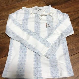 クミキョク(kumikyoku(組曲))のクミキョク リボンカットソー(Tシャツ/カットソー)