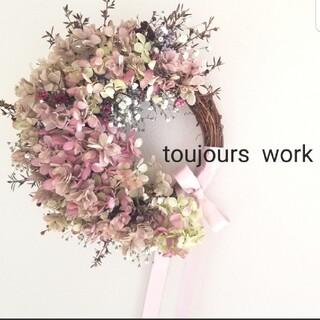 ドライフラワーリース◇◆spring  flower ◇◇(ドライフラワー)