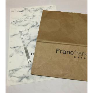 フランフラン(Francfranc)のフランフラン ショッパー ギフト袋(ショップ袋)