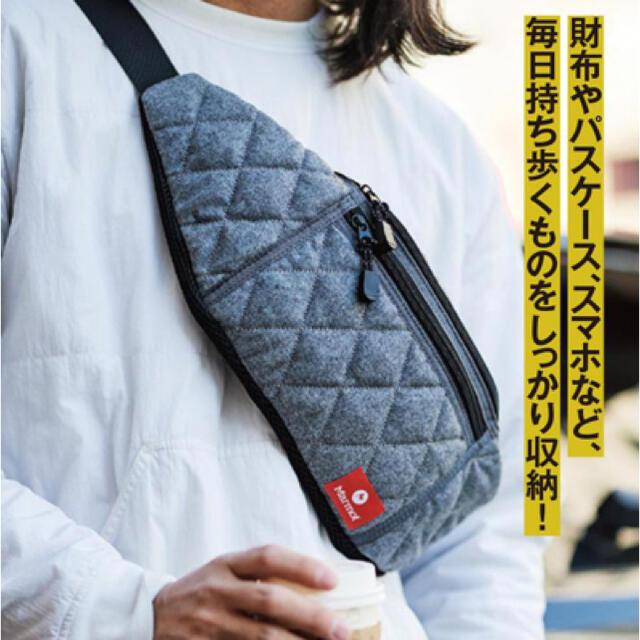 MARMOT(マーモット)のMonoMax マーモット ボディバッグ メンズのバッグ(ショルダーバッグ)の商品写真